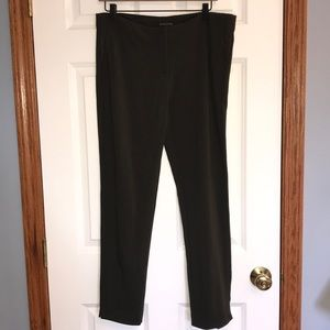 Eileen Fisher Olive Ponte Knit Pants